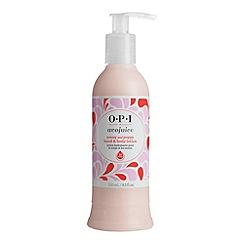 OPI - 'Avojuice Peony & Poppy Juicie' hand cream 250ml
