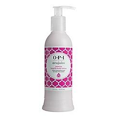 OPI - 'Avojuice Jasmine Juicie' hand cream 250ml