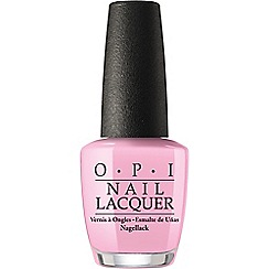 OPI - Fiji collection nail lacquer - Getting nadi on my honeymoon 15ml