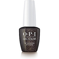 OPI - 'Top The Package With A Beau' gel lacquer 15ml