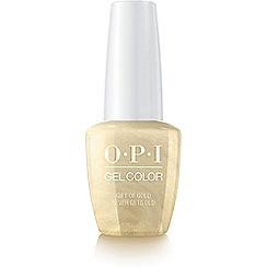 OPI - 'Gift Of Gold Never Gets Old' gel lacquer 15ml
