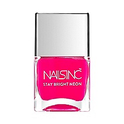 Nails Inc. - 'Stay Bright - Claridge Gardens ' neon nail polish