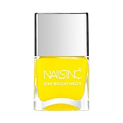 Nails Inc. - 'Stay Bright - Golden Lane' neon nail polish