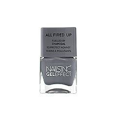 Nails Inc. - 'Spencer Street Fuelled by Charcoal' nail polish