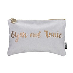 Nails Inc. - 'Gym + Tonic' cosmetic bag