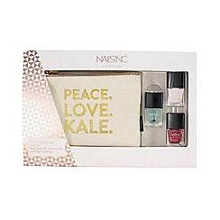 Nails Inc. - 'Peace Love Kale' mini nail polish gift set