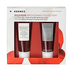 Korres - Wild Rose Mini Brightening Kit