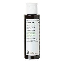 Korres - Aloe & Dittany Shampoo 40ml