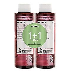 Korres - Japanese rose shower gel 1+1 250ml