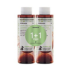 Korres - Beagamot pear shower gel 1+1 250ml