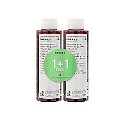 Korres - Aloe & Dittany Shampoo 1 + 1