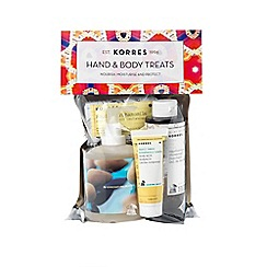 Korres - Hand and Body Treat Set