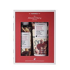 Korres - 'Almond Cherry' collection of two Christmas gift set