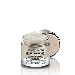 bareMinerals - 'SkinLongevity« Vital Power' eye gel cream 15ml