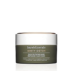 bareMinerals - 'Dirty Detox™' skin glowing and refining mud mask 58g