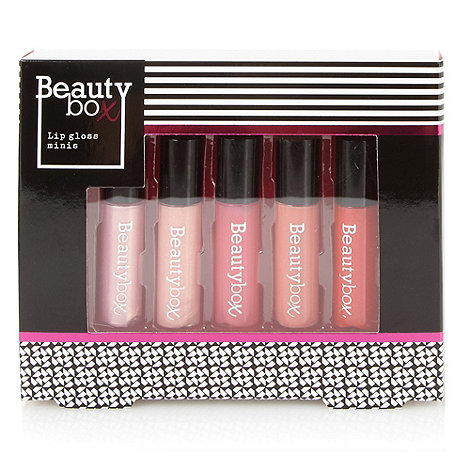 Debenhams - Beauty Box Mini Lip Glosses Gift Set