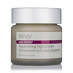 Trilogy - 'Age Proof' replenishing night cream 60ml