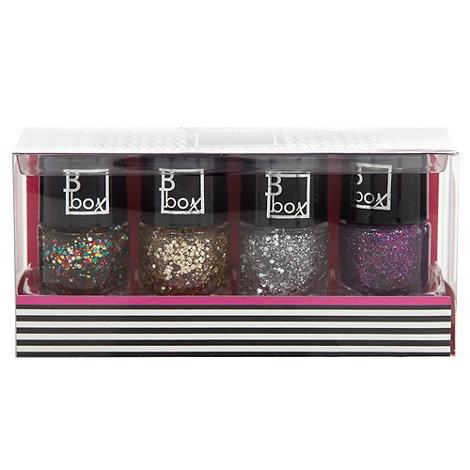 Debenhams - Beauty Box Mini Nail Glitters Gift Set