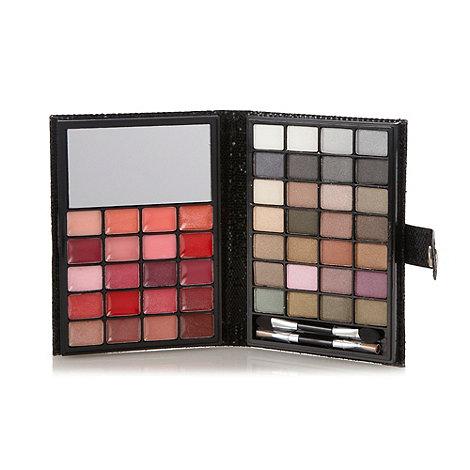Debenhams - Eye shadow and lip gloss beauty compact gift set