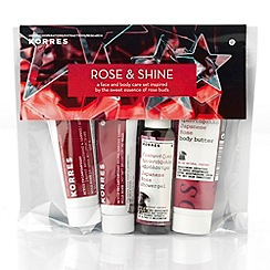 Korres - Rose and Shine Gift Set
