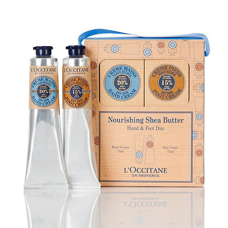 L+Occitane en Provence - Shea Hand and Foot Duo Gift Set
