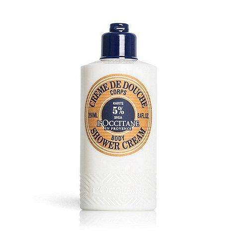 L+Occitane en Provence - +Shea Butter Milk+ shower cream 250ml
