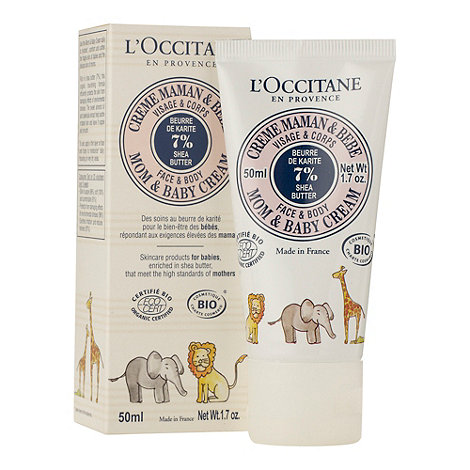 L+Occitane en Provence - Mom & baby shea baby cream 50ml