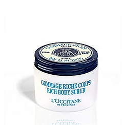 L'Occitane en Provence - 'Shea Butter' ultra rich body scrub 200ml