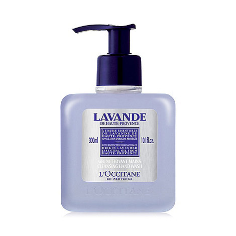 L+Occitane en Provence - +Lavender+ cleansing hand wash 300ml