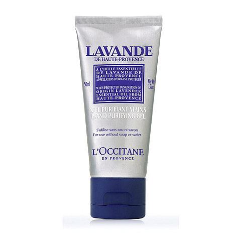 L+Occitane en Provence - Lavender Organic Hand Purifying Gel 50ml