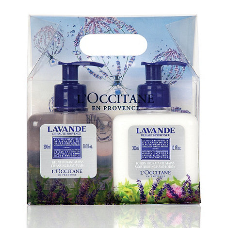 L+Occitane en Provence - +Lavande+ hand wash and lotion duo set