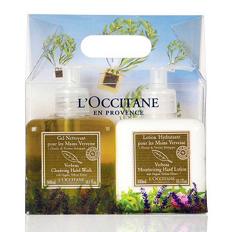 L+Occitane en Provence - Verbena Hand Wash & Lotion Duo