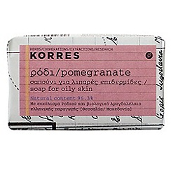 Korres - Pomegranate Face Soap for Oily Skin