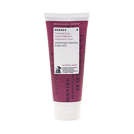 Korres - Japanese Rose Body Milk 200ml