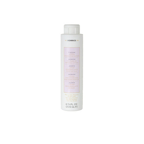 Korres - +Jasmine+ eye make up remover lotion 200ml