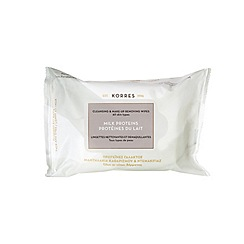 Korres - Cleansing and make up remover 25 wipes