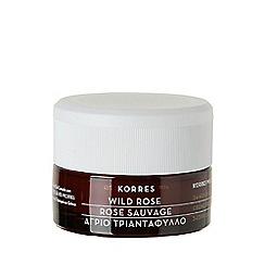 Korres - Wild Rose 24-hour Moisturising and Brightening Cream 40ml for normal to dry skin