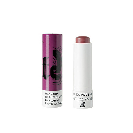 Korres - Mandarin Lip Butter Stick SPF 15 Purple