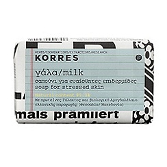Korres - Milk  Face and Body Soap 125g