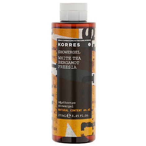Korres - White Tea, Bergamot and Freesia Shower Gel 250ml