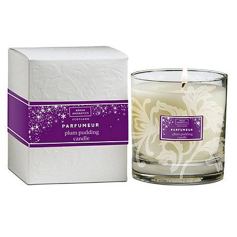 Arran Aromatics - Plum Pudding 30cl Boxed Candle