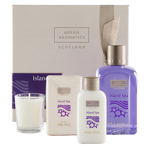 Arran Aromatics - Island Spa +Bath Box+ Gift Set