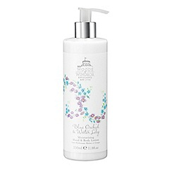Woods of Windsor - Blue Orchid & Water Lily Moisturising Hand & Body Lotion 350ml