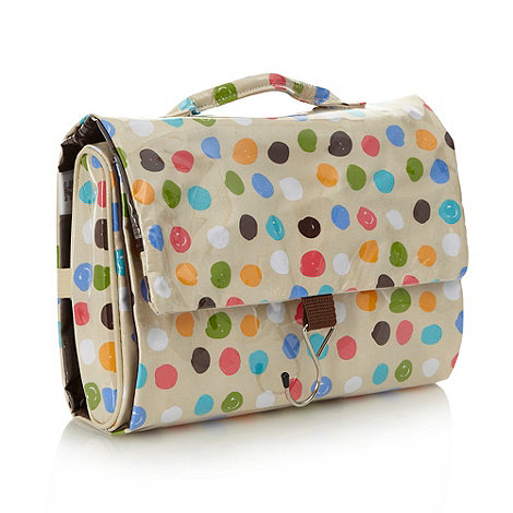 Debenhams - Small spot detachable hanging washbag