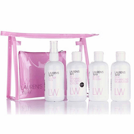 Lauren+s Way - Tan Teasers Mini Medium Lotion Kit Gift Set
