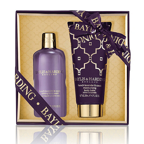 Baylis & Harding - French Lavender & Cassis Body Duo Gift Set