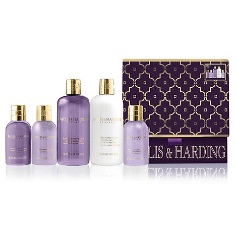 Baylis & Harding - +French Lavender And Cassis+ ultimate indulgence gift set
