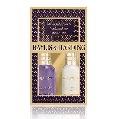 Baylis & Harding - +French Lavender And Cassis+ treats trio gift set