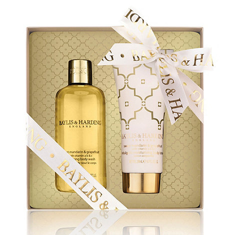 Baylis & Harding - +Sweet Mandarin And Grapefruit+ body duo gift set