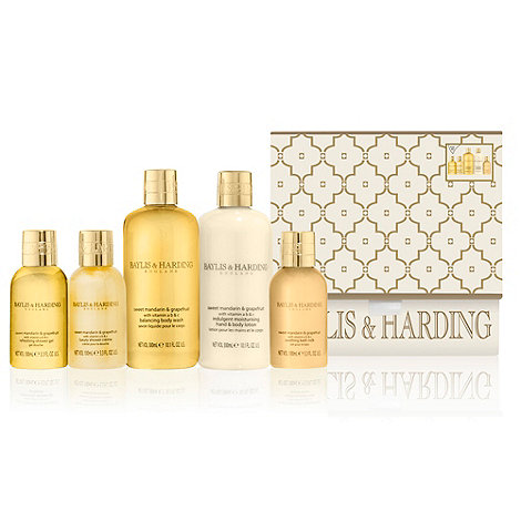 Baylis & Harding - +Sweet Mandarin And Grapefruit+ body indulgence gift set